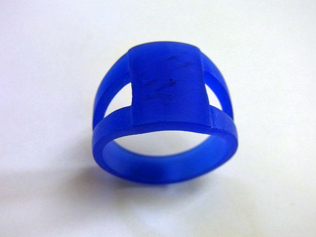 PT900 プラチナ ブラウンダイヤ デザインリング 2